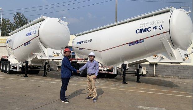 Lễ ký kết hợp tác với nhà máy CIMC