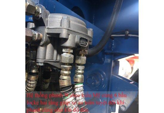 Sơ mi rơ moóc chở xi măng rời 43M3